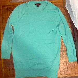 J. Crew wool 3/4 sleeve sweater size small